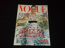 2005 JANUARY VOGUE MAGAZINE - JENNIFER LOPEZ - FASHION SUPER MODELS - F 2480
