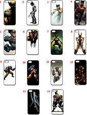 WOLVERINE  X-MEN COMIC MARVEL Seamless Case (Black) for iPhone 5