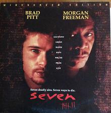 Seven  Widescreen Laserdisc Classic Brad Pitt - Morgan Freeman