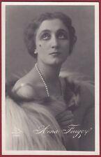 ANNA FOUGEZ 16 CANTANTE ATTRICE ACTRESS TEATRO CINEMA - TARANTO Cartolina FOT.