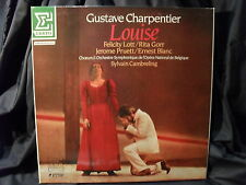 G. Charpentier - Louise / Cambreling   3 LP-Box