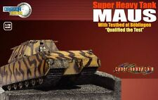 Dragon Armor 1/72 Scale Super Heavy Maus Tank with Testbed 60324