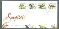 S'pore  FDC Song birds 6.5.1998