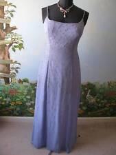 Tiffany Designs Lilac Silk Beaded Prom Evening Pageant Dress Sz 16