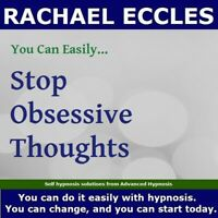 Stop Obsessive Thoughts Hypnotherapy Self Hypnosis CD