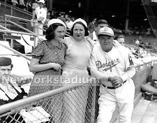 Brooklyn Dodgers- Babe Ruth & Family - Ebbets Field