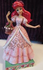 Jim Shore Disney The Little Mermaid Ariel Summer Blooms Roses Rare and Retired
