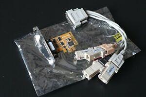 Carte PCIe vers 4 ports série RS232
