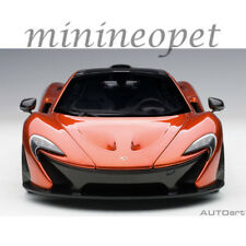 Autoart 76025 Mclaren P1 1/18 Model Car Volcano Orange with Orange Calipers