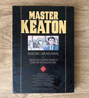 MASTER KEATON TOMO 1 NAOKI URASAWA KANZENBAN EN CASTELLANO MANGA COMIC