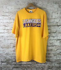 Majestic Los Angeles Lakers Men's 2XL T Tee Shirt LeBron James 23 LA Basketball