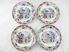 "SPODE NEW STONE SET OF FOUR - JAPAN PATTERN -  7"" BREAD PLATES - 1820 - 1832"
