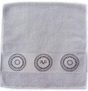V1969 Grigio Piacevole Design Asciugamano 100% Cotone 50cm x 90cm