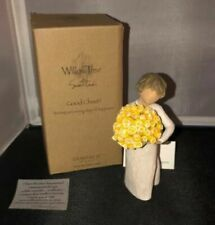 Willow Tree Good Cheer Girl Holding Flowers Figurine by Susan Lordi 27462