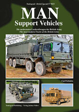 TANKOGRAD 9025 MAN SUPPORT VEHICLES THE MOST MODERN TRUCKS OF THE BRITISH ARMY