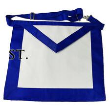 Freemasonry Blue Lodge Standard LEATHER Apron Masonic Craftsman Working Asset