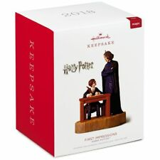 2018 Hallmark Harry Potter First Impressions Ornament Severus Snape  Sorcerer