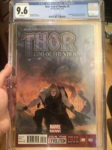 THOR GOD OF THUNDER #2 CGC 9.6 1ST APP. OF GORR & ALL-BLACK NECROSWORD L@@K!