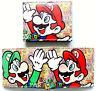Super Mario Bros Super Mario Wallet id window 2 card slot zipped coin pocket