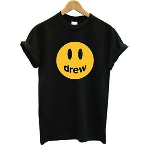 Drew Smile Happy Face Drew Emoji Trending Celeb Inspired || Adults & Kids Sizes