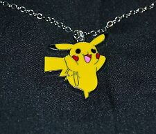 Pikachu Pokemon Necklace Metal Pendant Go Cute Kids Teens Boys Girls Version 2