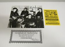 Pete Best The Beatles Hand Signed B/W 8 x 10 Photo with C.O.A. (B)