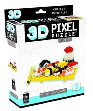 3d Pixel Puzzle Deluxe - Sushi