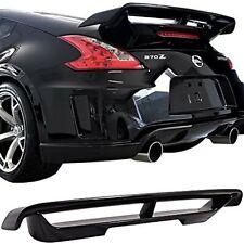 09-16 Nissan 370Z Nismo Style Trunk Boot Spoiler ABS Plastic Black UK Seller
