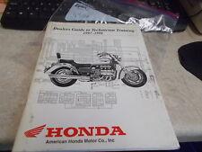 OEM Honda Dealers Guide To Technician Training 1997-1998 9706