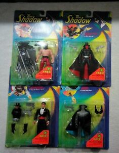 Lot of 4 Vintage 1994 The Shadow Action Figures
