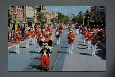 R&L Modern Postcard: Leader of the Band Mickey Mouse, Disneyland