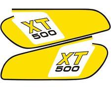 Yamaha XT500 TT500 1976/79 Special Anniversary Colours Fuel Tank Decals QBGTD4