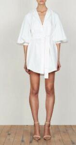 Shona Joy Balloon Sleeve shirt Dress Size 6
