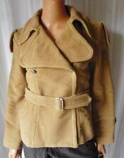 E-PLAY Giubbino GIACCA Jacket TG.XS in 100% Cotone tonalità Cammello
