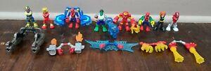Playskool Heroes Marvel Super Hero Adventures The Power Up Squad Lot