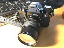 Nikon F2S Photomic DP2 Type A focusing vivitar lens orginal case and strap