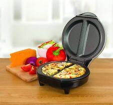 ELECTRIC 750W OMELETTE OMLETTE MAKER FRYING PAN EGG COOKER BREAKFAST NON STICK