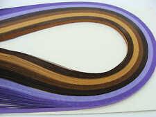 120 bandes de papier QUILLING 3mmx39cm 6 couleur MIX15 Loisirs créatifs DIY déco