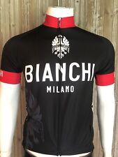 BIANCHI MILANO Santerno radtrikot manches longues noir//rouge
