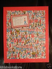 Where's Wally Jigsaw: WHERE'S WALLY JIGSAW,  80 PIECE JIGSAW - NEW