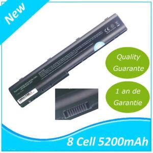 Batterie pour HP Pavilion DV7 DV8 HP HDX18 HSTNN-DB75 HSTNN-IB75 KS525AA 5200mah
