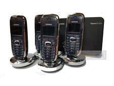 Siemens Gigaset SL3 Quattro DECT telephone Handsets charger & SL370 base station