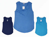 Damenshirt  T.-Shirt Tunika Top Wasserfall Ausschnitt Viskose XS-M Farbe wählbar