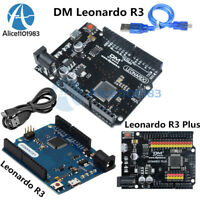 5V 16MHz Leonardo R3 Plus ATmega32U4 Microcontroller Board USB Cable for Arduino