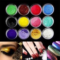 1Set 12 Colors Pigment Powder for DIY Soap Cosmetics Resin Colorant Dye