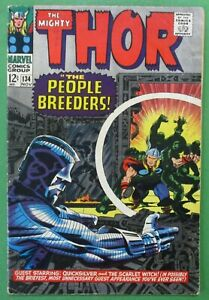 Mighty Thor #134 - 1st Appearance of High Evolutionary MCU GOTG 3 GD/VG