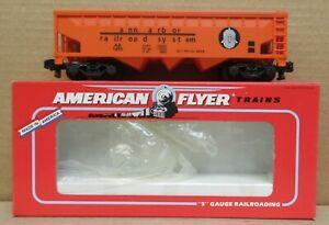 American Flyer 6-52094 NASG 1996 Ann Arbor Hopper Car S-Gauge C-7