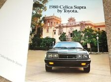 1980 Toyota Celica Supra Large Deluxe Sales Brochure w/envelope - Mint!