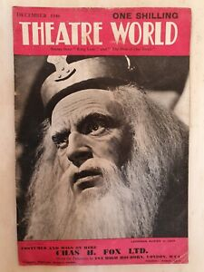 THEATRE WORLD DECEMBER 1946 KING LEAR AND THE SKIN OF OUR TEETH