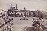 Nancy 2 Foto Doppio / Verso P1 Vintage Ca 1880